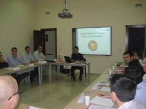 Primera sesión del Master de emprendedores
