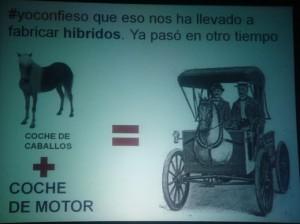 Hibrido coche caballo hibridacion